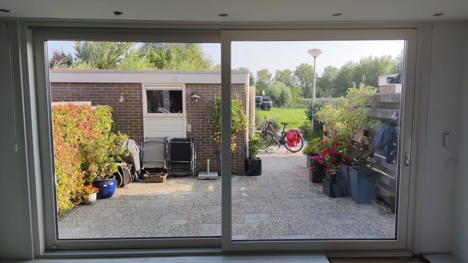 grote raam schuifpui